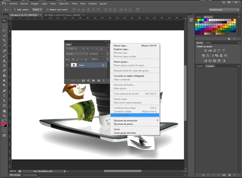 Diseño para fotolito serigrafía