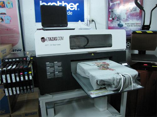 Impresión digital calidad fotografia en camisetas, bolsas etc.