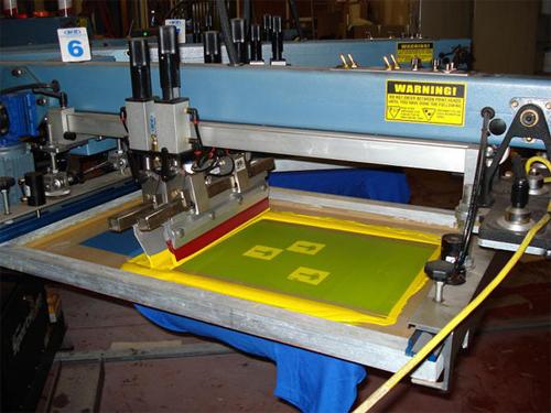 Maquina para serigrafia camisetas
