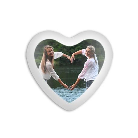 Cojín corazón 40x45 personalizado con foto