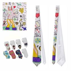 Corbata personalizada a todo color