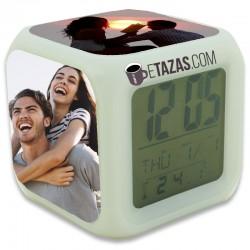 Reloj digital personalizado con fotos