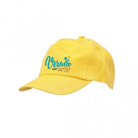 Gorra infantil algodón personalizada
