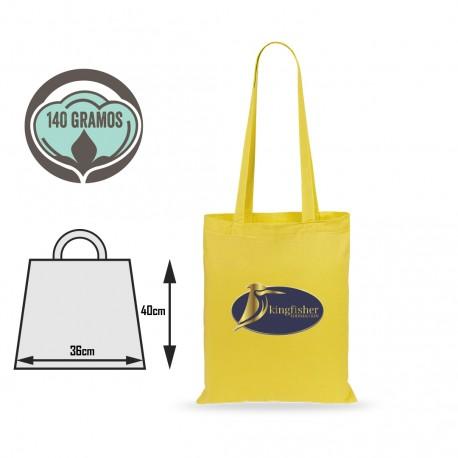 Bolsa tote-bag algodón calidad color
