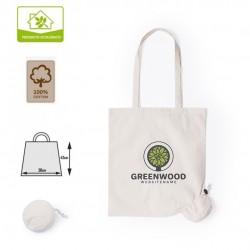 Bolsa algodón plegable personalizada
