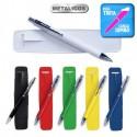 Bolígrafo metálico impresión logo Gavin