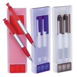 Set bolígrafo + lápiz portaminas Soyer
