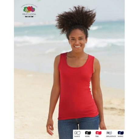 Camiseta tirantes mujer para personalizar