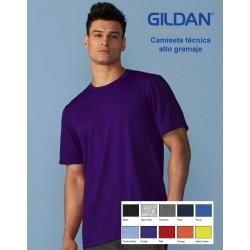 Camiseta técnica 100% políester alto gramaje