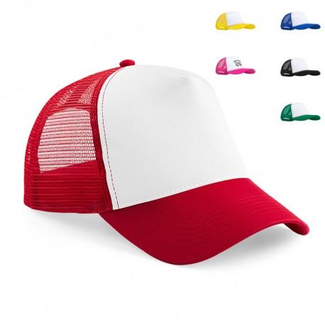 Gorra de malla políester