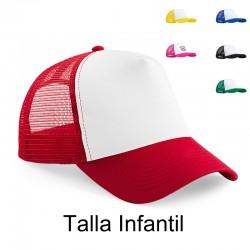 Gorra de malla políester personalizada