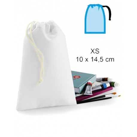 Bolsa cordón ajustable políester 14.5x10cm