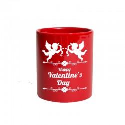 Taza roja personalizada San Valentín
