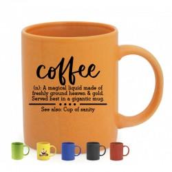 Taza cerámica colores para personalización