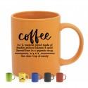 Taza cerámica 350ml colores para personalización