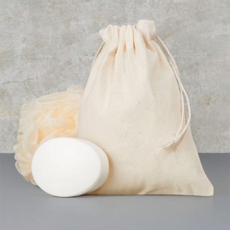 Bolsa Algodón Cordón Mediana- 15x20cm