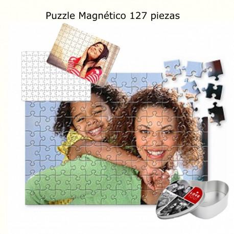 Puzzle magnético personalizado con foto
