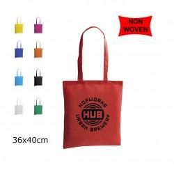 Bolsa TNT colores 36x40cm personalizada con logo