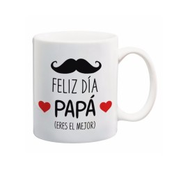 Taza Blanca Cerámica 350ml Personalizable
