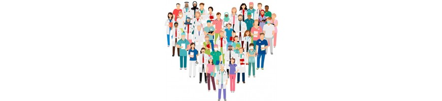 Tazas personalizadas personal sanitario