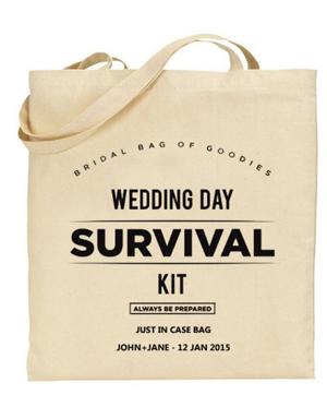 bolsas estampadas para bodas