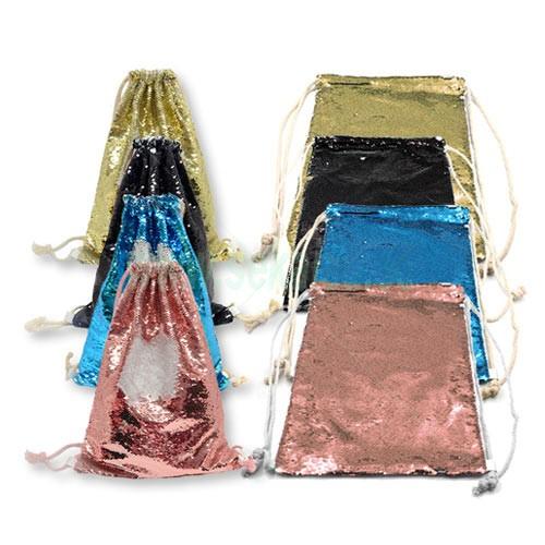 Bolsas lentejuelas personalizadas con foto imagen diseño y texto Regalo San Valentín