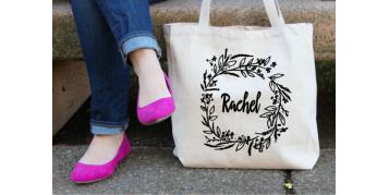 Bolsas de tela personalizadas.Estampación de bolsas de algodón