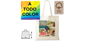 Ofertas y promociones en estampación de bolsas de tela de algodón a todo color