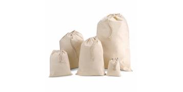 Bolsas con cordón personalizadas.Bolsas algodón cordón estampadas