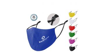 Mascarillas textiles reutilizables personalizadas con certificado UNE 0065